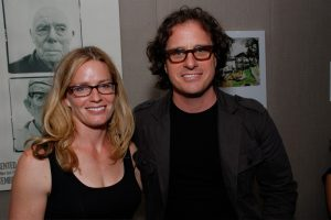 Elisabeth Shue with director Davis Guggenheim